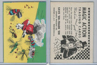 W510-3 Abbey, Magic Action Trading Cards, 1964, Bees Attacking
