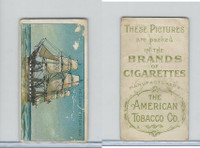 T418 American Tobacco, Old And Ancient Ships, 1910, The Constitution 1812