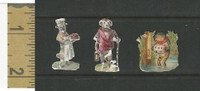 Victorian Diecuts, 1890's, Animals, Dogs & Frog Act Human (7)