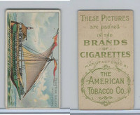 T418 American Tobacco, Old And Ancient Ships, 1910, Venetian Galley