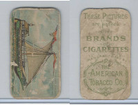 T418 American Tobacco, Old And Ancient Ships, 1910, Venetian Galley, 11th Cen