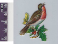 Victorian Diecuts, 1890's, Birds, Bird in Branches (46)