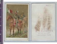 Victorian Card, 1890's, Babbitts Soap, Soldiers (3)
