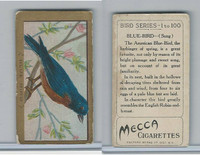 T42 American Tobacco, Birds, 1910, Blue Bird