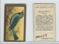 T42 American Tobacco, Birds, 1910, Blue Cotinga