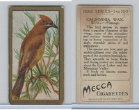 T42 American Tobacco, Birds, 1910, California Wax Wing