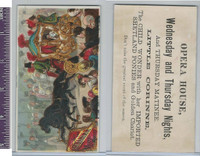 Victorian Card, 1890's, Little Corinne Opera, Horse & Carriage