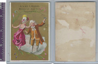 Victorian Card, 1890's, Peasley, MS, Dancing