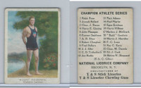 E229 National Licorice, Champion Athletes, 1920's, Budd Goodwin, Swimmer