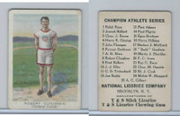 E229 National Licorice, Champion Athletes, 1920's, Robert Cloughen