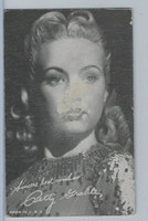 W Exhibit Movie & Recording Stars, 1950's, Betty Grable