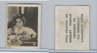 L0-0 La Estrella, Shirley Temple, 1935, Cuba Candy Card, #89