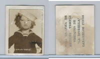 L0-0 La Estrella, Shirley Temple, 1935, Cuba Candy Card, #193