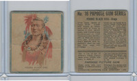 V254 Canadian CG, Papoose Gum Indians, 1934, #16 Young Black Dog
