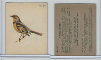 V339-2 Parkhurst, Audubon Society Birds, 1952, #29 Varied Thrush