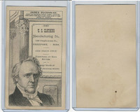 H602 US Clothing, Presidents, 1890's, James Buchanan