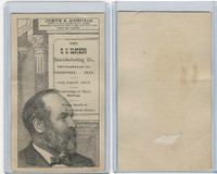 H602 US Clothing, Presidents, 1890's, James Garfield