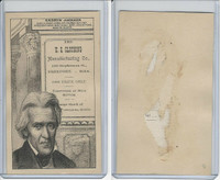 H602 US Clothing, Presidents, 1890's, Andrew Jackson