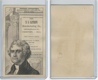 H602 US Clothing, Presidents, 1890's, Thomas Jefferson