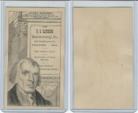 H602 US Clothing, Presidents, 1890's, James Madison