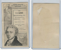 H602 US Clothing, Presidents, 1890's, James Monroe