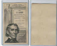 H602 US Clothing, Presidents, 1890's, John Tyler