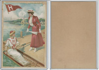 Victorian, 1903 Tetlow, Ivy League Card, Harvard Rowing