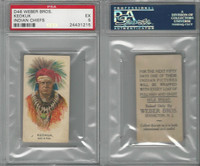 D46 Weber Baking, Indian Pictures, 1920, Keokuk, PSA 5 EX