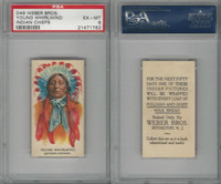 D46 Weber Baking, Indian Pictures, 1920, Young Whirlwind, PSA 6 EXMT