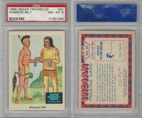 1959 Fleer, Indian Trading, #20 Wampum Belt, PSA 8 NMMT