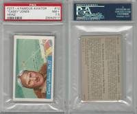 F277-4, H.J. Heinz, Famous Aviator - 1st S., 1935, #12 Jones, PSA 7.5 NM+
