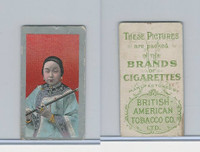 T441 British American Tobacco, Chinese Girls, 1910, Blue Dress