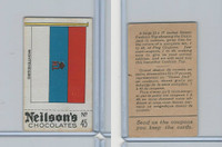 V62 Neilsons Chocolate, Flags Of Countries, 1923, #45 Montenegro