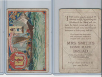 D93 Mrs. Smiths Bread, Cards of States, 1910, Massachusetts