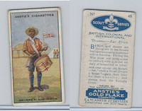 A66-15 Anstie Cigarettes, Scout Series, 1923, #48 Drummer East Africa