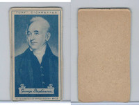 C18-37 Turf, Celebrities British History, 1935, #33 George Stephenson