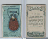 G12-19 Gallaher, The Great War, 1915, #122 An Air Bomb
