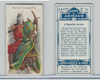 P72-15 Player, Arms & Armour, 1909, #17 A Mounted Archer