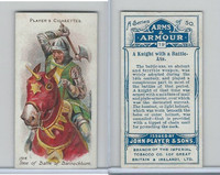 P72-15 Player, Arms & Armour, 1909, #19 Knight With Battle Axe
