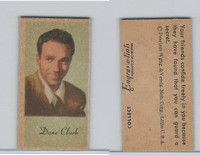 UW4 Peerless, Movie Stars Color Series, 1940's, Dane Clark