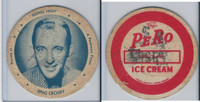 F5-16 Dixie Cup, 1950, Movie Stars, Large Size, Bing Crosby