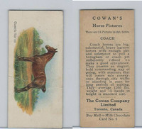 V14 Cowan, Horse Pictures, 1929, #5 Coach