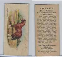 V14 Cowan, Horse Pictures, 1929, #15 Clydesdale