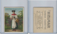 T52 Helmar, Costumes & Scenery, 1912, Girl from Baden