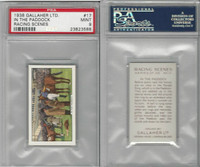 G12-94 Gallaher, Racing Scenes, 1938, #17 In The Paddock, PSA 9 Mint