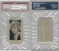 T85 American Tobacco, Movie Stars, 1922, #162 Eileen Percy, PSA 6 EXMT