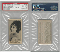 T85 American Tobacco, Movie Stars, 1922, #188 Ruth Roland, PSA 6 EXMT