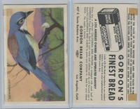 D39-2b, Gordon Bread, California Birds, 1940's, California Jay