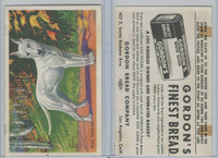 D39-3a, Gordon Bread, Dog Pictures, 1940's, Bull Terrier