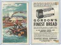 D39-7, Gordon Bread, Natures Splendor, 1940's, Logging Camp